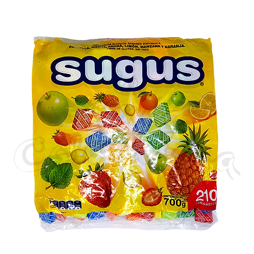 Caramelos Sugus Bag - 700gr