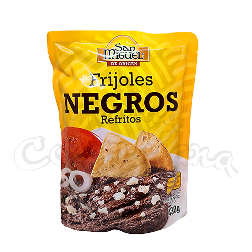 Refried Black Beans - 430gr