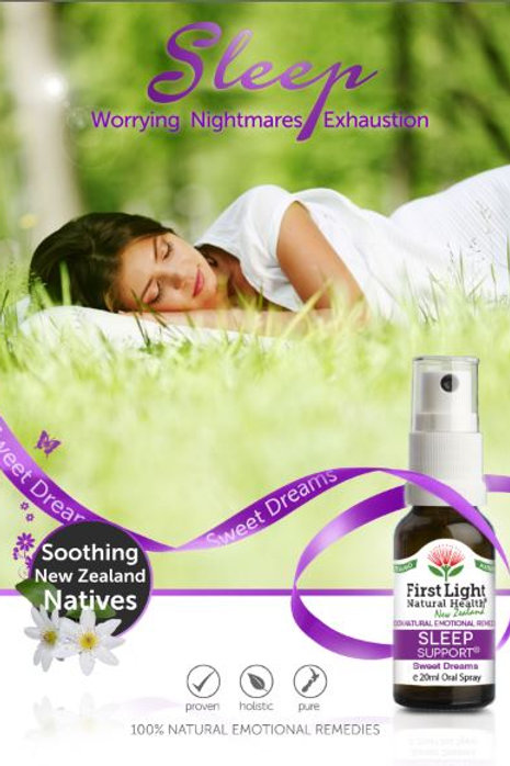 Sleep Support flower essence blend in auckland natural product