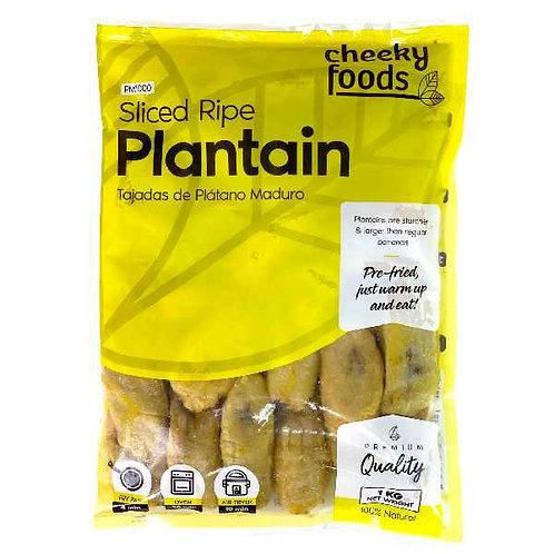 Sliced Ripe Plantain (Platano Maduro Tajado) - 1kg