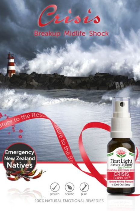 Crisis Support flower essences natural product in new zealand auckland