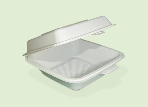 Portahamburguesa PH1 de plastico biodegradable en Cali Colombia