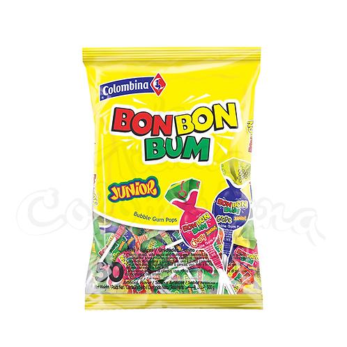 bon bon Bum Junior Colombian lollipop in NZ mixed flavors