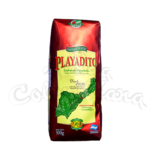 Yerba Mate Playadito no stems Mate from Argentina in New Zealand
