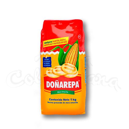 Doñarepa Yellow Corn Flour - (Harina de maíz amarillo) - 1kg