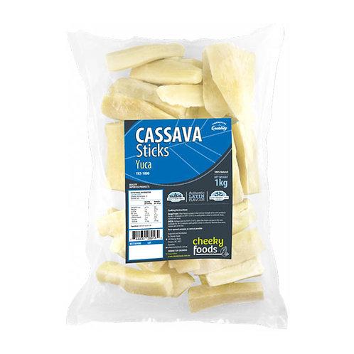 Cassava Sticks (Yuca) - 1kg