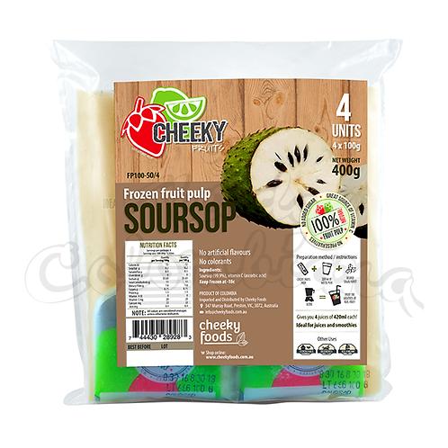 Soursop Pulp (Guanábana) - 400gr