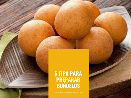 Tips para Preparar Buñuelos  en Nueva Zelanda