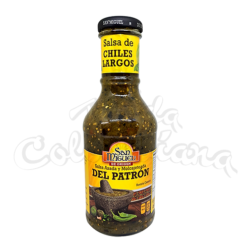 Salsa del Patron - Mix of chillis - 450ml