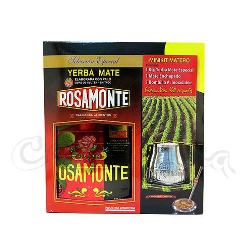 Mate in New Zealand - Rosamonte kit matero from Argentina