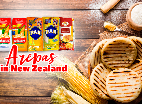 Make Colombian or Venezuelan Arepas in New Zealand