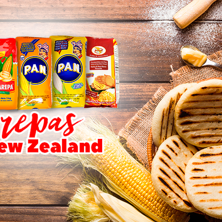 Make Colombian or Venezuelan Arepas in New Zealand
