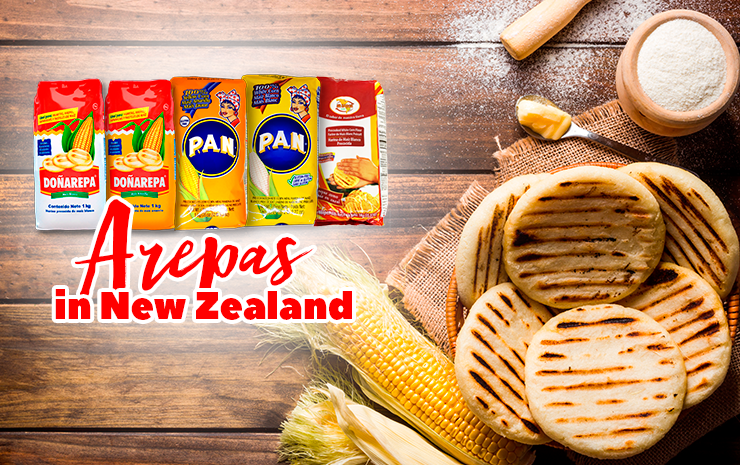 Cooking Arepas in New Zealand