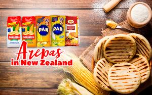 Cooking Arepas in New Zealand