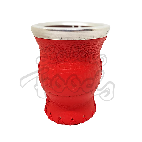 Playadito glass gourd Red (Mate)