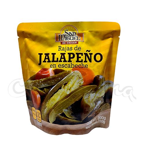 Sliced Jalapeno in Escabeche - 200gr