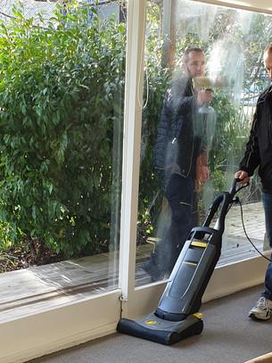 Karcher cleans up impressively