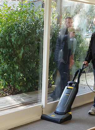Karcher cleans up impressively