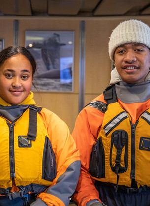 Antarctic trip stimulates youth leadership
