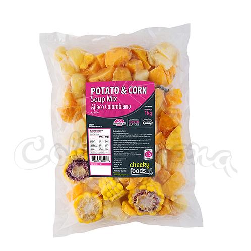 Ajiaco Colombiano (Potato & Corn) - 1kg