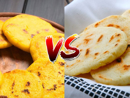 Differences between white corn and yellow corn, that only arepa lovers know