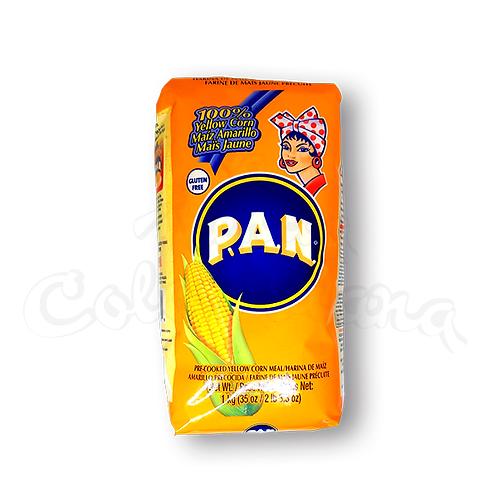 Harina PAN Yellow Corn Flour - (Harina de Maíz amarillo) - 1kg
