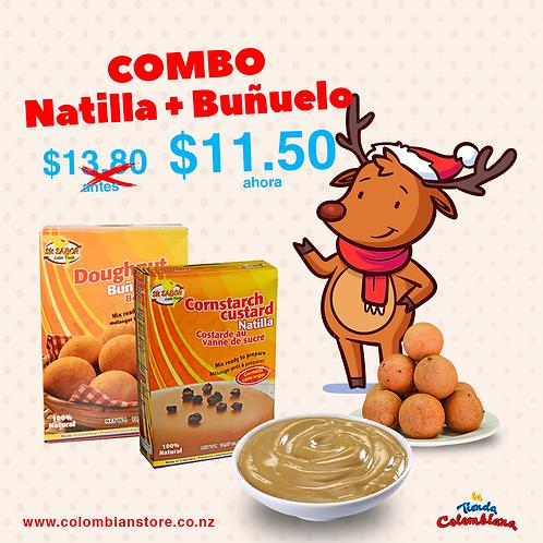 Combo Buñuelo + Natilla