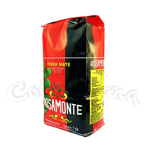 Yerba Mate Rosamonte Traditional with Stems - 1 kg