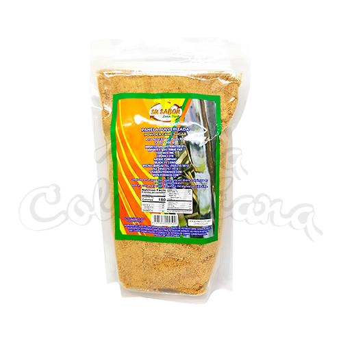 Raw Sugar Cane Powder / Jaggery (Panela Pulverizada) - 400gr