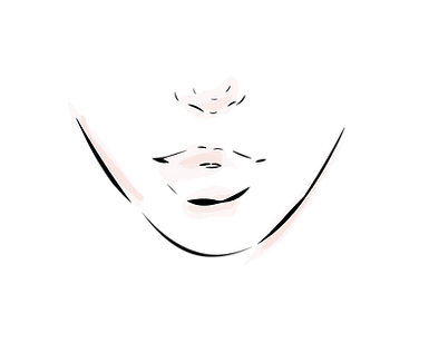 lips nose chin drawing WITH COLOR SWL-01