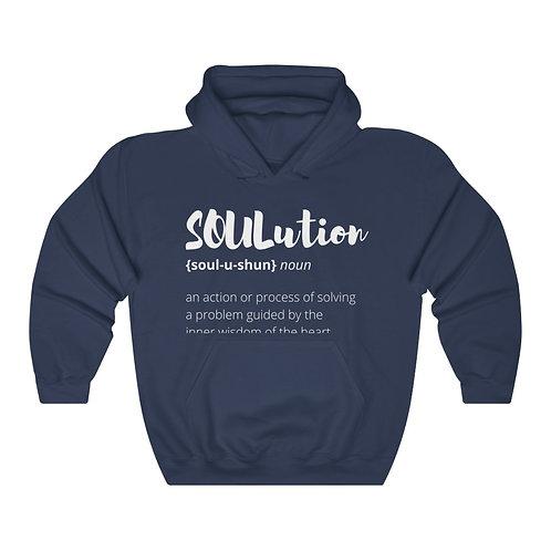 TEAM SOULutions Hooded Sweatshirt (Stylized)