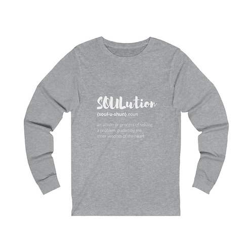TEAM SOULutions Long Sleeve Tee (Stylized)