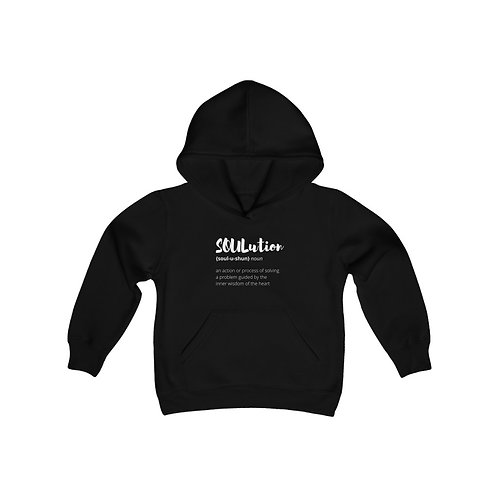 TEAM SOULutions Youth Hooded Sweatshirt (Stylized)