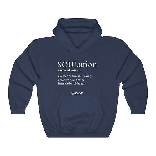 Define SOULutions Hooded Sweatshirt