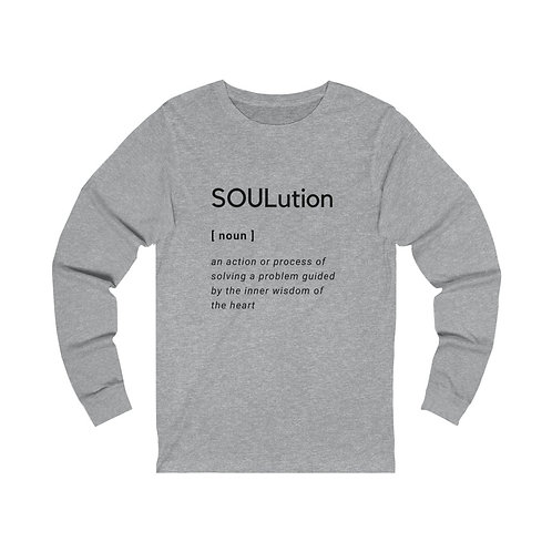 Define SOULutions Original Long Sleeve Tee