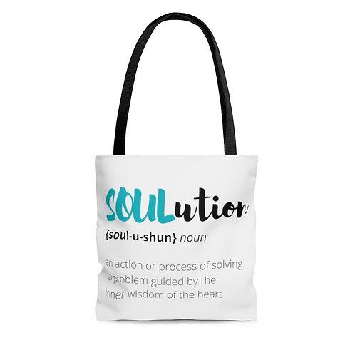 Define SOULutions Tote Bag