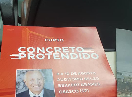 Curso - Concreto Protendido - ArcelorMittal - 2019