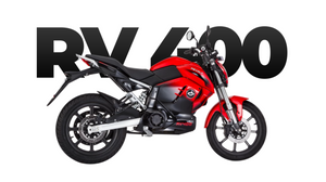 Revolt Motors RV400 Electric Motorcycle side view
