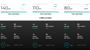 Screenshot of Android App of Revolt Motors RV400
