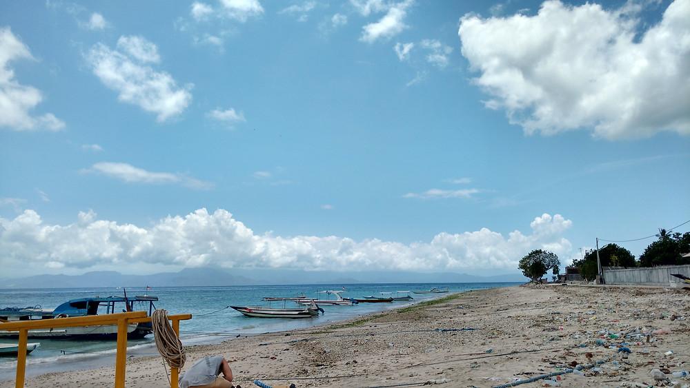 The harbor at Nusa Penida