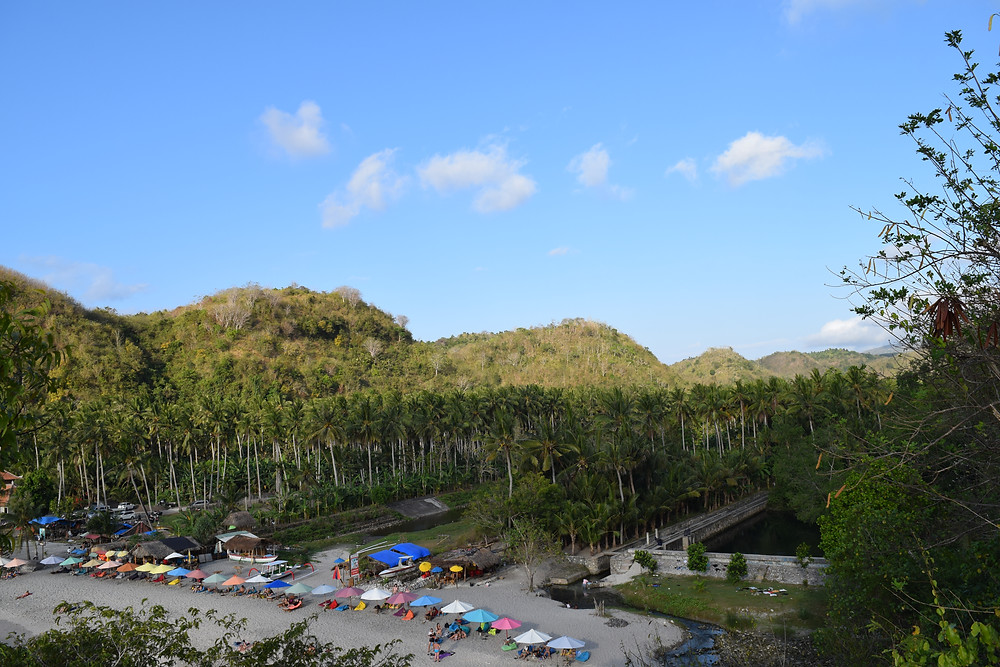 Spend an afternoon under these sun umbrellas at Crystal Bay