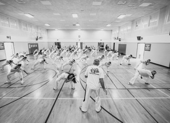 The Training Hall and the ritual of training.