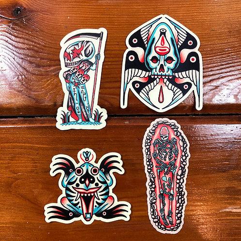 Sticker/Magnet pack