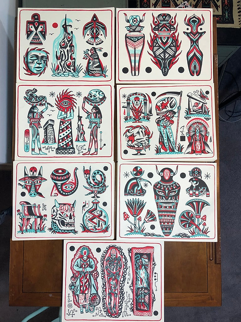 Offerings and Ancestors Print Set