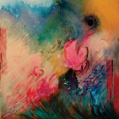 Joyful Abundance.    12x12  (Sold)