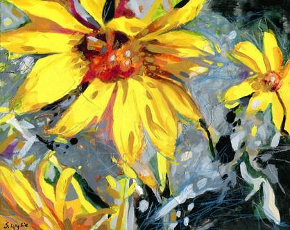 Arrowleaf Balsamroot Spring 8x10 (Sold)