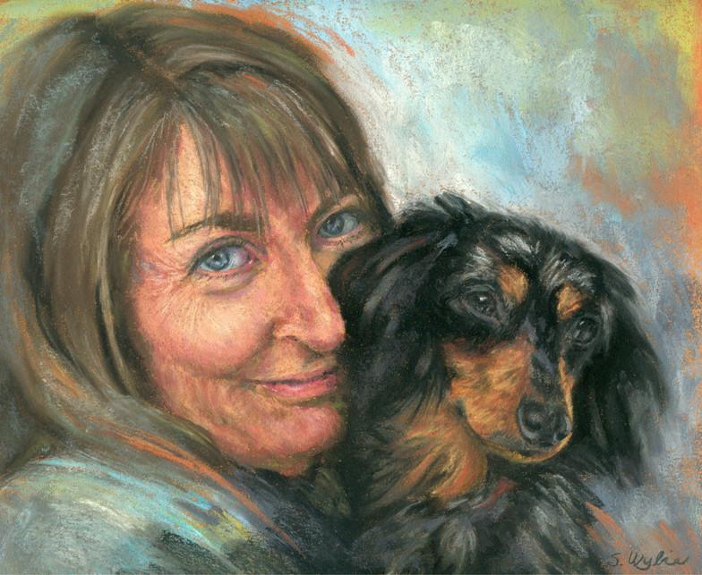 Shannon Wylie Self Portrait.