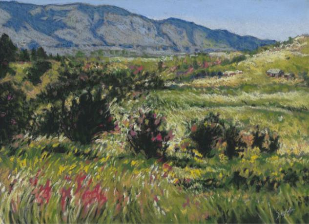 """""""June Bloom in Cosen's Bay"""" (sold)"""