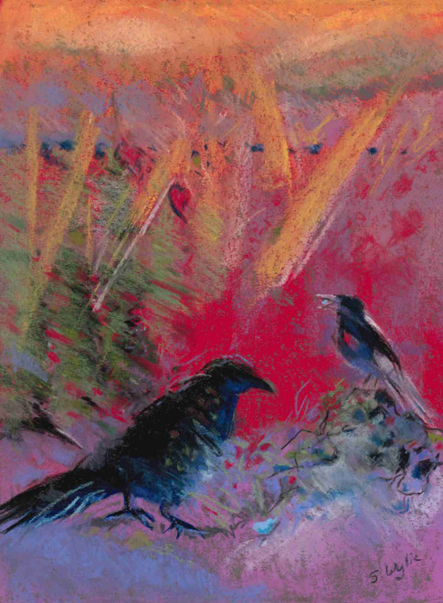 """""""Birds of a Feather"""" (sold)"""