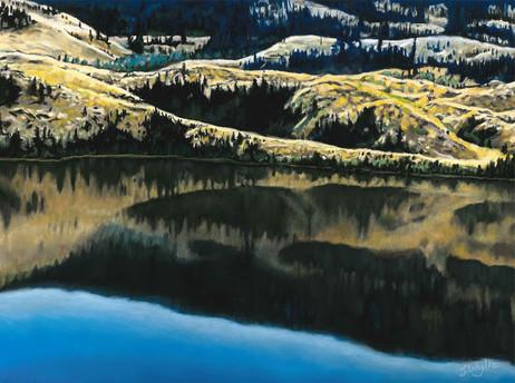 """Douglas Lake Reflection"" (Sold)"